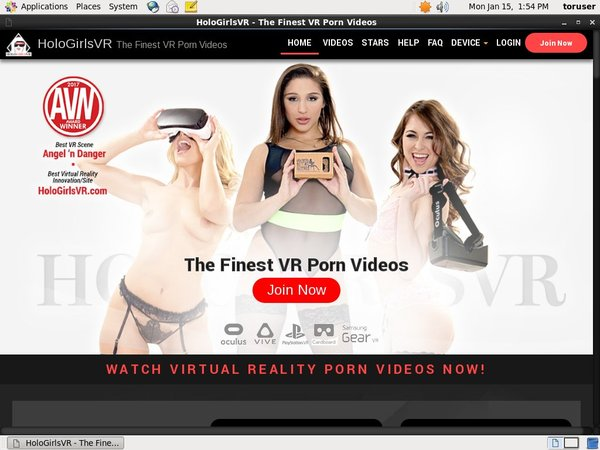 Holo Girls VR Accept Pay Pal